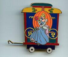Disney Auctions Christmas Princess Train Princess Cinderella Pumpkin Le 100 Pin