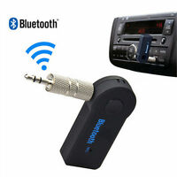 Car Bluetooth Receiver 3.5mm AUX Audio Stereo Music Speaker Wireless Adapter