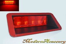 Universal Fit Style New 5 Red LED Red Lens Hight Third Brake Light Stop Lamp