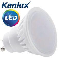10x Kanlux 9 W 54 W equivalente Super brillante LED Lámpara Luz Bombilla Fría Blanco GU10