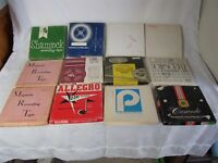 Vintage Reel To Reel Tapes (7 Inch) Lot Of 12 Mixed 1960-70's Pre-Recorded Lot F