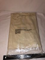 NWT's Vintage Military Issued Mans Natural Lightweight Winter Undershirt Medium