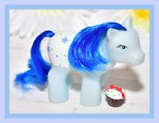 ❤️Vtg My Little Pony Phony Fake Fakie Clone Fancy Pants Blue Baby Stars❤️