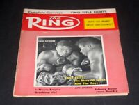 THE RING BOXING MAGAZINE JULY 1958 FLOYD PATTERSON