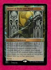 FOIL SWORD OF BODY AND MIND Masterpiece Series Kaladesh Inventions mtg