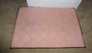 Genuine Graco Pack n Play Replacement Padded Mattress Pink+3 Graco Sheets!