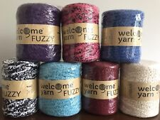 T-shirt Fuzzy Yarn  100m Crochet Knitting