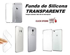 Funda TPU silicona eco transparente HTC ONE M8 (100)