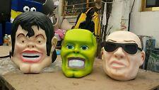 Cabezones Cabesones Personajes Big Head Costume Botargas Mascots Cabesonez