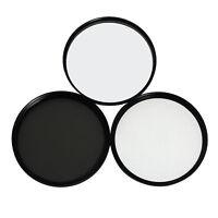MaximalPower 77mm Lens Filter Kit includes Circular Polarizer, UV, and Star Lens