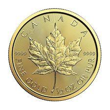 2017 1/2oz Canada Gold Maple Leaf BU