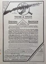 1910 AD(G13)~J.STEVENS ARMS & TOOL CO. CHICOPEE FALLS, MASS. STEVENS SHOTGUN