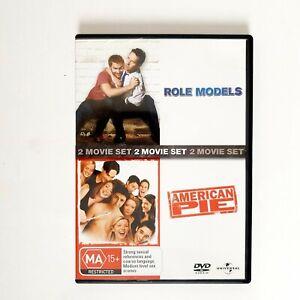 Role Models + American Pie 2 x Movie DVD Region 4 AUS Free Postage - Comedy