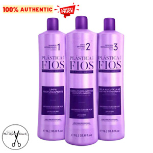 Cadiveu Plastica Hair Plastic Surgery Smoothing System 3x1L
