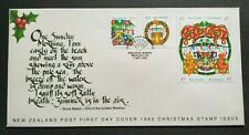 1993 New Zealand Christmas Celebration 6v Stamps FDC