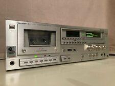 Vintage Sharp Rt-2266 stereo cassette deck (Made in Japan)