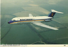 Postcard 298 - Plane/Aviation 346 British Caledonian BAC 1-11