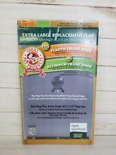 Ideal Pet Products Rfxln Plastic Aluminum Replacement Door Flap Xl 10.5 X 15 New