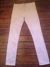 Topshop Moto skinny Jeans Baxter rosa/Blush SZ 10 w28 passend l34 ~ 367