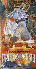 PRINCE OF PERSIA Super Famicom Nintendo Japan Boxed Game