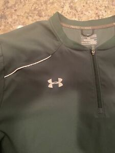 Under Armour 1/4 Zip Pullover, Cage Coat / Pullover, Batting Cage Short Sl- 3XL
