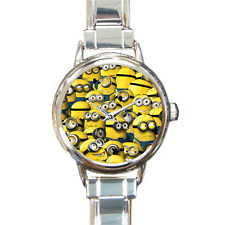Minions Despicable Me 3 Film Comedy Italian Charm Watch Bracelet Gift Present