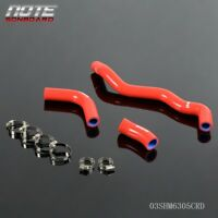 Silicone Radiator Hose Kit For SUZUKI DRZ400S DRZ400​SM 02-15 Red