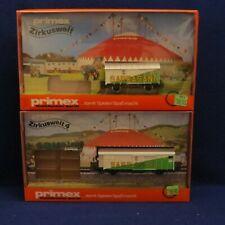 Primex 4584 & 4589 ZIRKUSWELT & ZIRKUSWELT 4 Sarrasani Circus Transport TRAILER