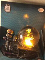 Nightmare Before Christmas Musical LightUp Snow Globe Jack & ZERO