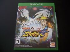 Replacement Case (NO GAME) NARUTO SHIPPUDEN ULTIMATE NINJA STORM 4 XBOX ONE XB1