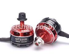 2pcs GT2205 2205 2300KV Brushless Motor 3-4S single strand wire for 210 250 270