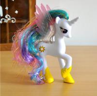 1 Pcs #4 My Little Pony 14cm Princess Celestia Action Figure Model Girls Toy