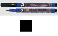 Gundam Marker Gm01 Black Fine Tip GUNPLA marquer Pen Noir GSI CREOS