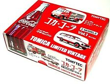Tomica Limited Vintage 2 Models Nissan 3.5t Truck Crown Van Coca Cola 1/64 NEW
