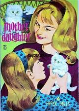 Vintage Uncut 1963 Mother & Daughter Paper Dolls~#1 Reproduction~Adorable!