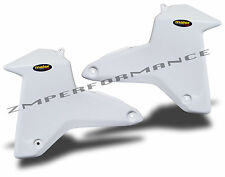 NEW SUZUKI LTR450 LT450R LTR 450 06 - 09 WHITE PLASTIC RADIATOR AIR SCOOPS