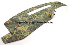NEW SuperFlage Camo Camouflage Tailored Dash Mat Cover / 1988-94 CHEVY GMC TRUCK