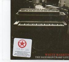 (DQ58) White Rabbits, The Salesman (Tramp Life) - 2010 DJ CD