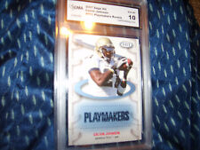Calvin Johnson GRADED ROOKIE!! Gem Mint 10 Sage Hit #P61 Insert Lions Megatron!!