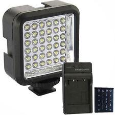 36 LED Video Light Lamp For Canon 1100D 450D 550D 60D 600D + Battery + Charger A