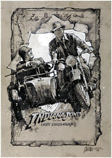 Indiana Jones and the Last Crusade (1989) Harrison Ford movie poster print 3