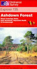 (Good)-Ashdown Forest (Explorer Maps) (Map)-Ordnance Survey-0319218147