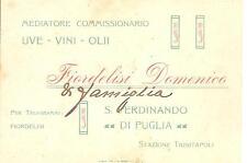 S. FERDINANDO DI PUGLIA - FIORDELISI Domenico - Mediatore UVE - VINI - OLII