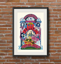 Led Zeppelin concert poster 1971 Electric Magic Show at Wembley Empire Pool