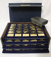 The Franklin Mint 24k Jane's Medallic Register of the World's Greatest Aircraft