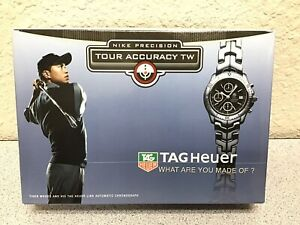 Tiger Woods Nike Tour Accuracy TW Golf Balls TAG Heuer 4 Sleeves (12 Ttl.)
