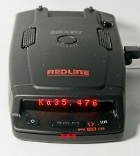 Escort RedLine Radar Detector Great Condition - FAST SHIPPING