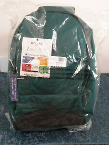 DELSEY Paris Securban Laptop Backpack, Green, 13.3 Inch Sleeve  - NEW