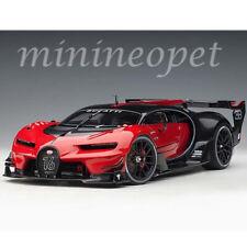 AUTOart  70988 BUGATTI VISION GRAN TURISMO 1/18 MODEL CAR RED BLACK CARBON