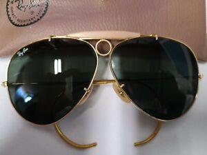 Vintage Ray Ban Shooter sunglasses B&L inscription